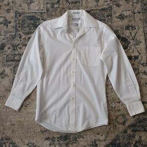 Van Heusen | Classic Fitted White Button-Down